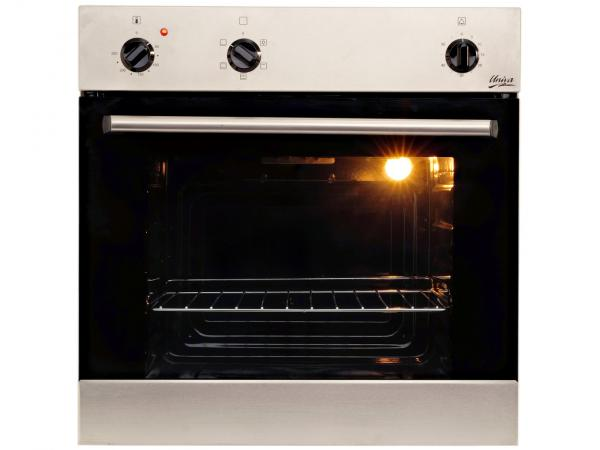 ucount rewards univa 60cm eye level oven stainless steel. Black Bedroom Furniture Sets. Home Design Ideas