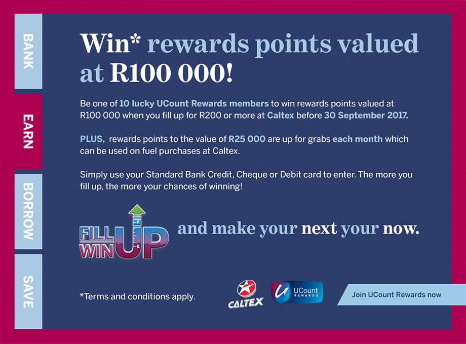 Standard Bank Ucount Rewards Program